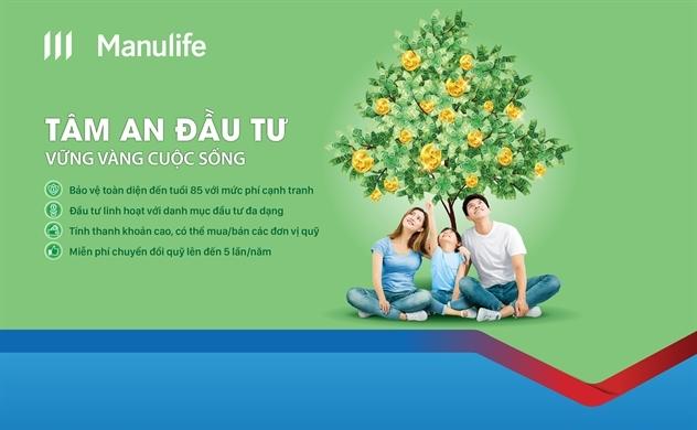 Cùng Manulife Việt Nam và SCB hoạch định tương lai tài chính với sản phẩm Tâm An Đầu Tư